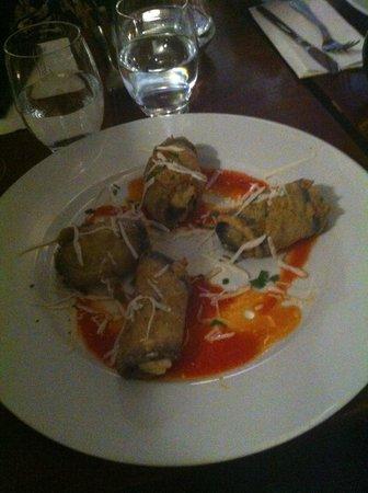 Pinocchio Italian restaurant & Wine bar: My plate!