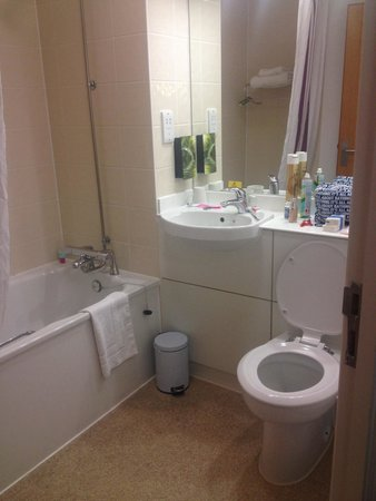 Simple Bathrooms Hounslow simple but really clean bathroom - picture of premier inn london