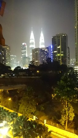 The Royale Chulan Kuala Lumpur: View from our room