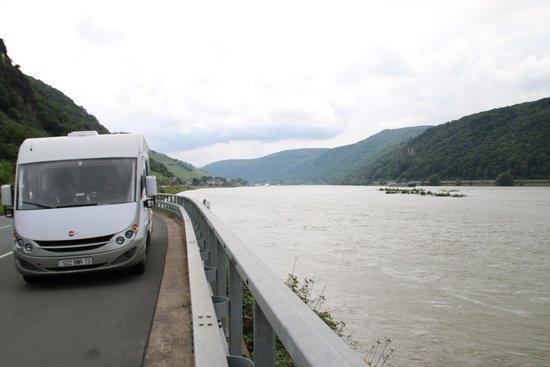 Rheintal: Bord du Rhin