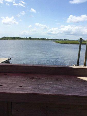 Yacht Basin Eatery: YBE overlooking ICW