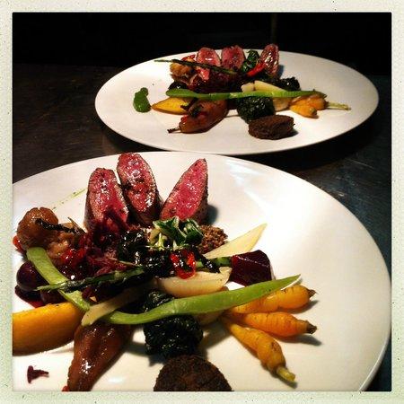 Restaurant Hotel de Ville : Un plat
