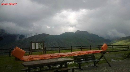 Mottolino Fun Mountain: Cima con maltempo