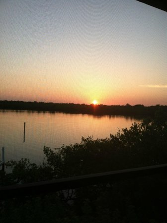 Tween Waters Inn Island Resort & Spa: Sunrise from the screened lanai