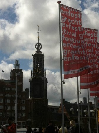 SANDEMANs NEW Europe - Amsterdam : Town Clock