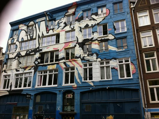 SANDEMANs NEW Europe - Amsterdam: Squatting District Mural