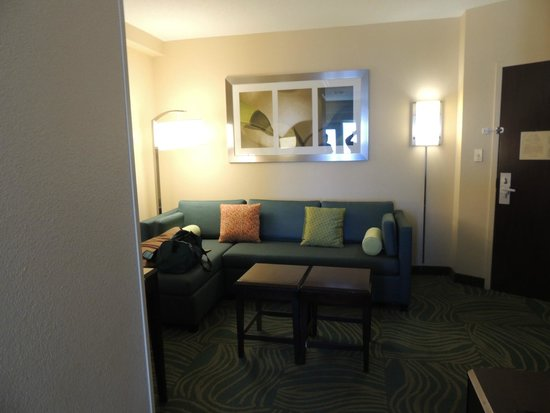 SpringHill Suites Galveston Island: Room