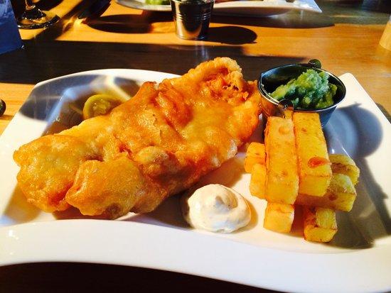The Treehouse Restaurant at the Alnwick Garden: Tasty!