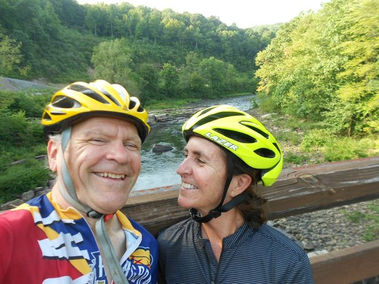 Confluence House Bed & Breakfast and Catering Services, LLC: riding on the GAP trail is awesome!