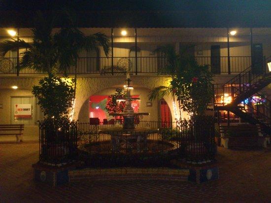 Mi Pueblo: Evening view in The Brickyard Plaza