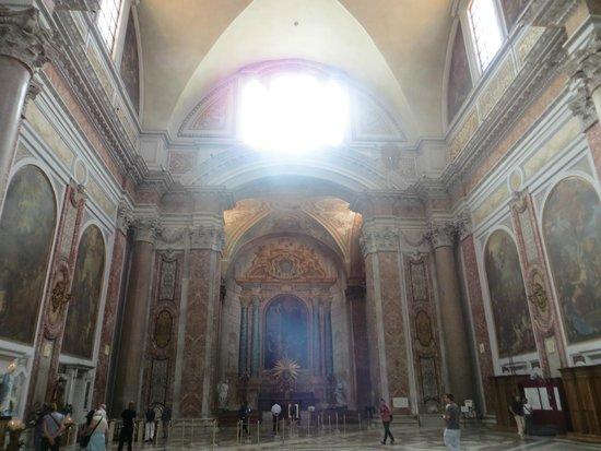 Basilica di Santa Maria degli Angeli e dei Martiri : Inside the Cathedral 3