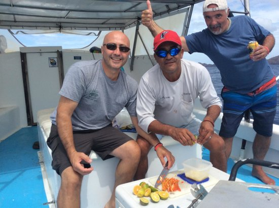Vic-Tours: and he made Ceviche