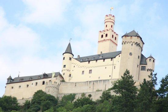 Schloss Marksburg: Vue de jour