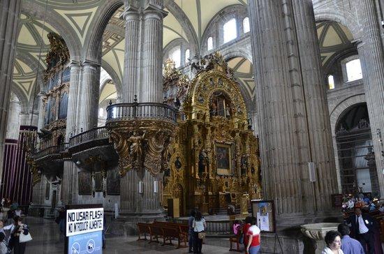 Metropolitan Cathedral (Catedral Metropolitana): Inside the Catedral