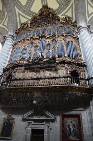 Metropolitan Cathedral (Catedral Metropolitana): Pipe organ