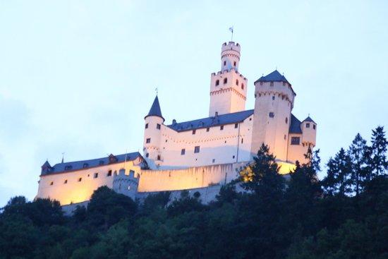 Schloss Marksburg: Vue de nuit