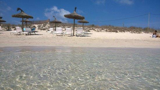 Playa es Pujols : Es Pujols