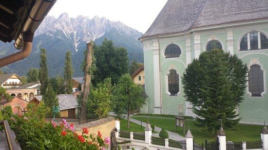 Hotel Urthaler: Vista dalla camera