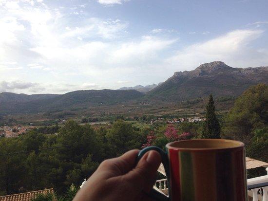 Valle de Jalón: Fabulous views
