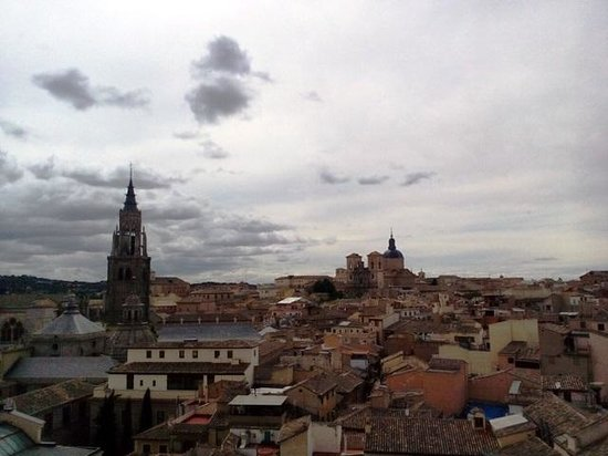 Carlos V Hotel: A view from roof top terrace