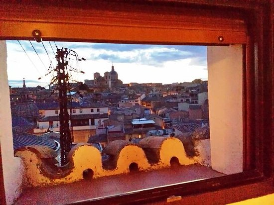 Carlos V Hotel: A view from Room 411