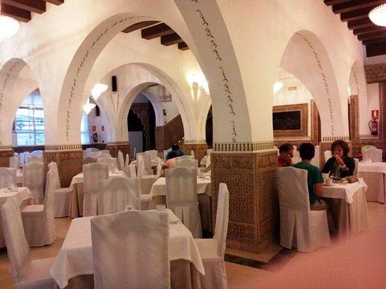 Carlos V Hotel: Breakfast venue