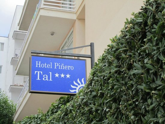 Hotel Pinero Tal: Eingang