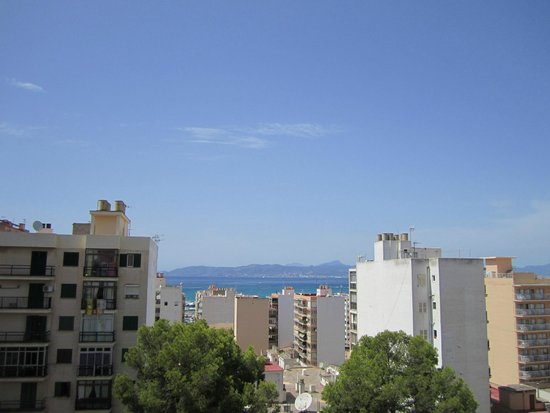 Hotel Pinero Tal: Blick vom 7.stock aufs Meer