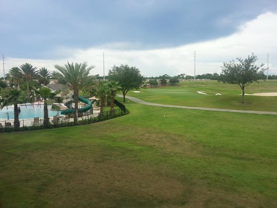 Reunion Resort, A Salamander Golf & Spa Resort: From our Villa Balcony - Pool and Golf Course