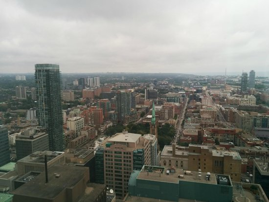 One King West Hotel & Residence: Looking east