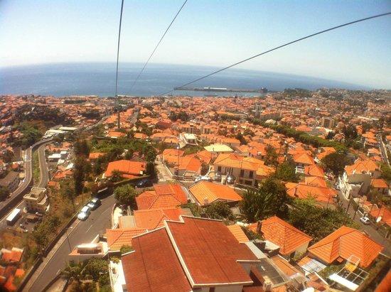 Téléphérique de Funchal : Funchal roofs