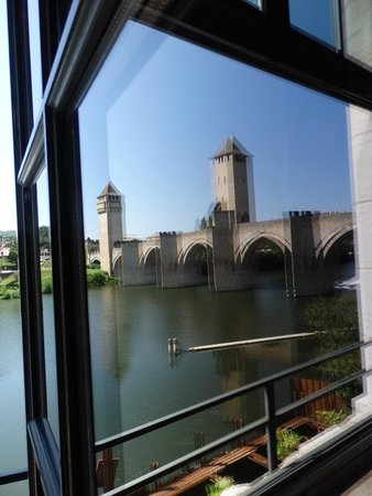Pont Valentre : reflet