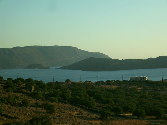 Elounda Residence : view from the balcony