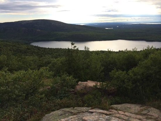 The Lodge-ings at Southwest Harbor: View From Cadilac Mountain, in Nearby Acadia National Park