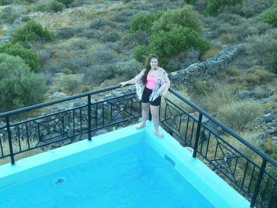 Elounda Water Park Residence: Villa Pool