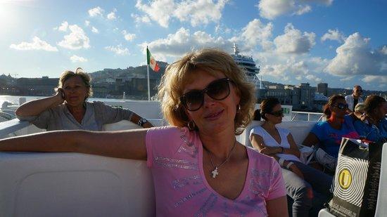 Garden & Villas Resort: Паром Napoli - Ischia