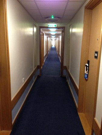 Travelodge London Waterloo Hotel: Corridor