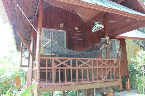 Koh Tao Royal Resort: bungallow A4: vue de dehors