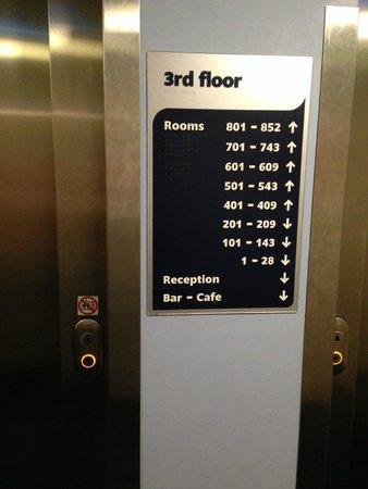 Travelodge London Waterloo Hotel: Floors rooms