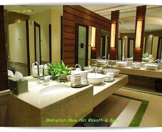 Sheraton Hua Hin Resort & Spa: ห้องน้ำ