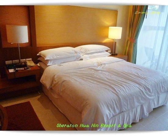 Sheraton Hua Hin Resort & Spa: ห้อนนอน