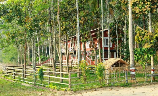 Emarald Western Ghats Resorts: cottage view from the kid's play area