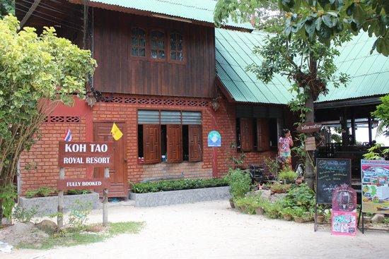 Koh Tao Royal Resort: Accueil