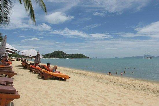 Bandara Resort & Spa: Beach Area