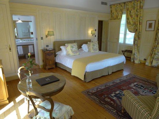 Domaine de la Tortiniere : Unser Zimmer