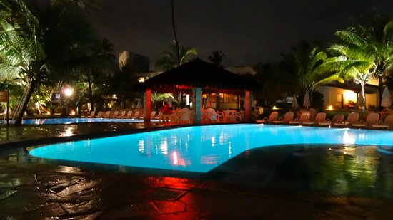 Village Porto de Galinhas: Village Hotel at night