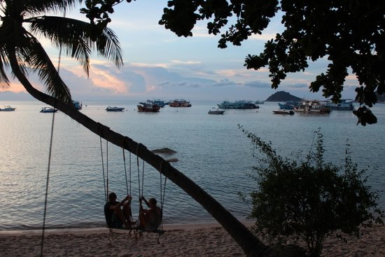 Koh Tao Royal Resort: la plage// MELASSI PHOTOGRAPHY