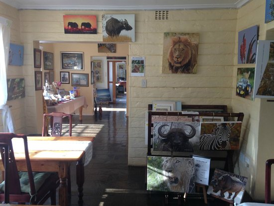 Wayfarers Guest House : sala colazione