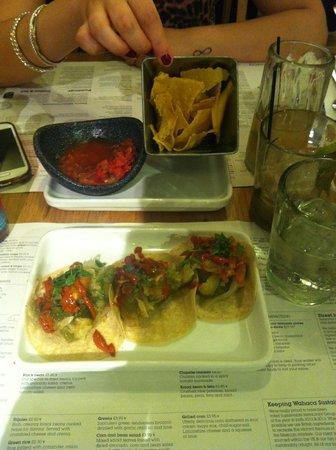 Wahaca Covent Garden: Tortillas