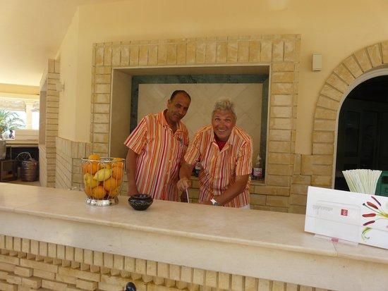Hotel Palace Oceana Hammamet: Avec notre ami Kamel